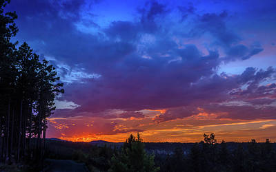 Photograph - Quartz Canyon Sunset by Dakota Light Photography By Dakota