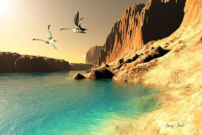 Quasimodo Seascape Art Print