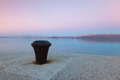 Photograph - Quay In Dawn by Davor Zerjav