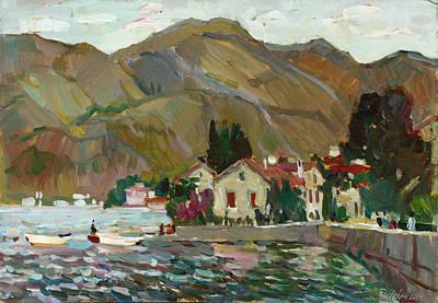 Painting - Quay Of Stoliv by Juliya Zhukova