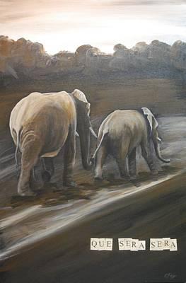 Que Sera Wall Art - Painting - Que Sera Sera by Emily Page