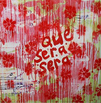 Painting - Que Sera Sera by Gh FiLben