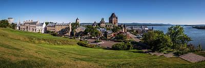 Photograph - Quebec City Panorama by Chris Bordeleau