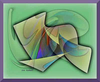 Digital Art - Quebec by Iris Gelbart