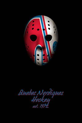 Photograph - Quebec Nordiques Established by Joe Hamilton