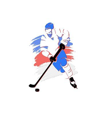Quebec Photograph - Quebec Nordiques Player Shirt by Joe Hamilton