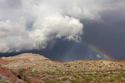 Photograph - Quebradas Rainbow by Kathleen Bishop
