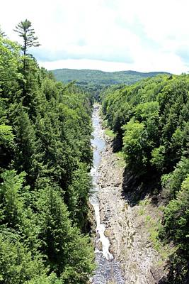 Photograph - Quechee Gorge by Georgia Hamlin