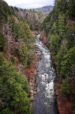 Photograph - Quechee Gorge by Mike Martin