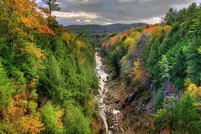 Photograph - Quechee Gorge - Quechee Vermont by Joann Vitali