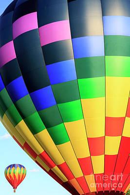 Photograph - Quechee Vermont Hot Air Balloon Fest 2 by Edward Fielding