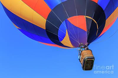 Quechee Vermont Hot Air Balloon Festival Art Print