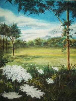 Pastel - Queen Ann by Kathleen Romana