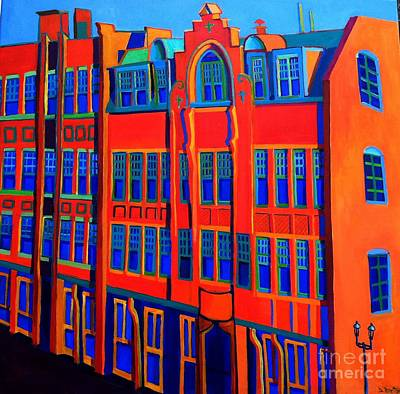 Queen Anne In Lowell Art Print by Debra Bretton Robinson