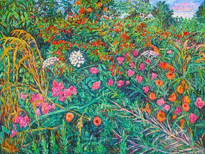 Painting - Queen Annes Lace by Kendall Kessler