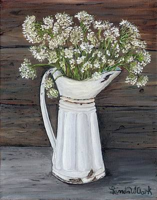 Painting - Queen Ann's Lace by Linda Clark