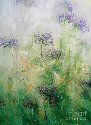 Painting - Queen Ann's Lace by Alla Dickson