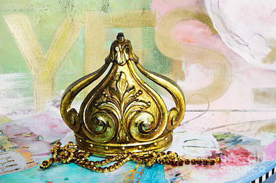 Anahi Decanio Licensing Art Mixed Media - Queen Be by WALL ART and HOME DECOR