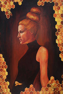 Painting - Queen Bee by Elise Procter