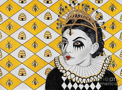 Garvin Painting - Queen Bee by Stacy Garvin