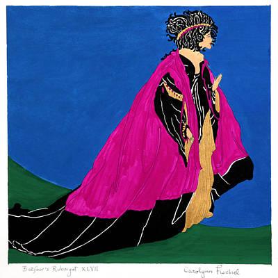 Rubaiyat Painting - Queen by Carolynn Fischel