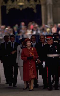 Travel Pics Royalty-Free and Rights-Managed Images - Queen Elizabeth and Duke of Edinburgh by Travel Pics