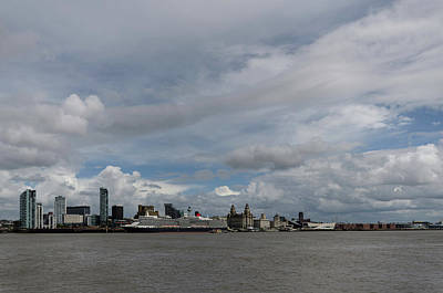 Photograph - Queen Elizabeth At Liverpool by Spikey Mouse Photography