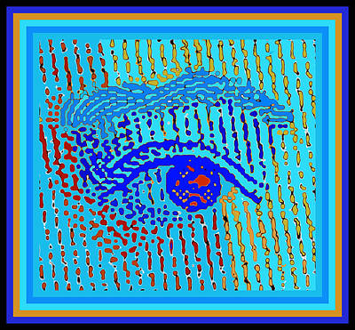 Digital Art - Queen Elizabeth Eyes by Vagabond Folk Art - Virginia Vivier