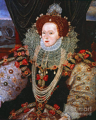 Photograph - Queen Elizabeth I, C1588 by Granger