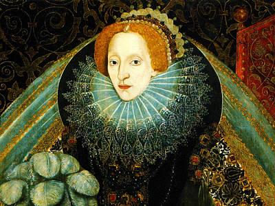 Queen Elizabeth I Of England Print by Bill Cannon