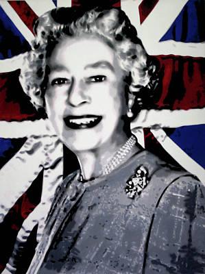 Queen Elizabeth II Art Print