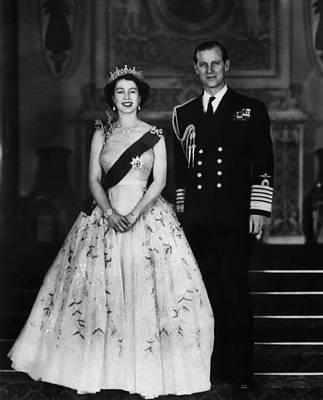 Queen Elizabeth II, The Queen Art Print