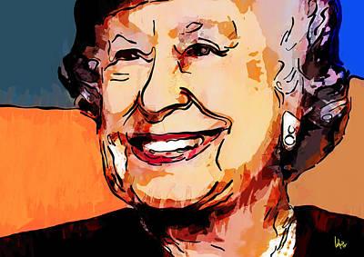 Queen Elizabeth Ii Painting - Queen Elizabeth II by Vya Artist