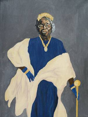 Painting - Queen Estella by Angelo Thomas