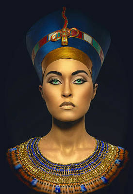 Digital Art - Queen Esther by Karen Showell