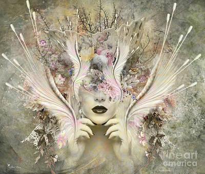 Digital Art - Queen Flora by Ali Oppy