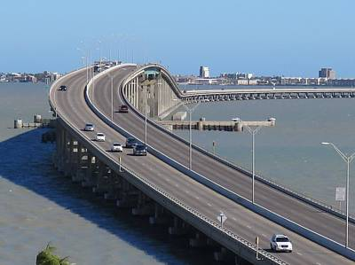 Photograph - Queen Isabella Causeway by Keith Stokes