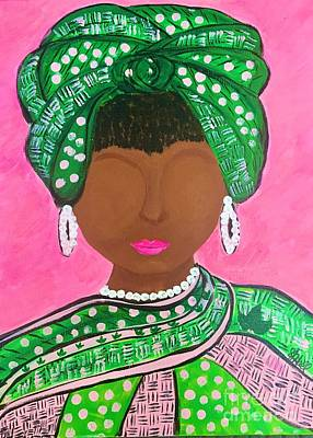 Painting - Queen Ivy by Sheila J Hall