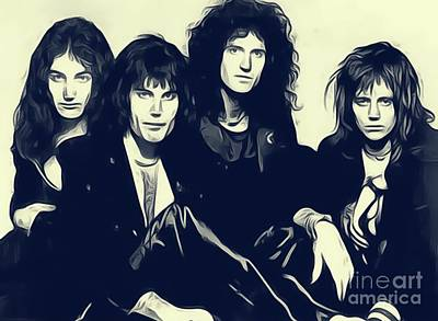 Musicians Royalty Free Images - Queen Royalty-Free Image by John Springfield