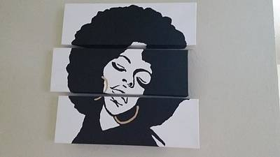 Afro Queen Original by Kristina Kind