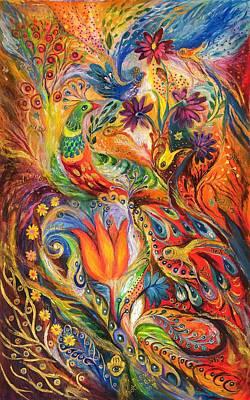 Queen Lillie Art Print by Elena Kotliarker