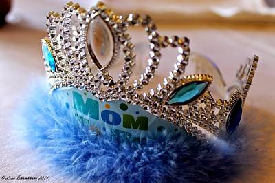 Photograph - Queen Mom  by Forever Young