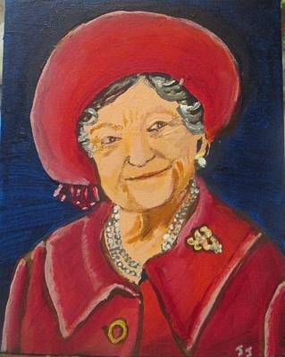 Painting - Queen Mother by Jennylynd James