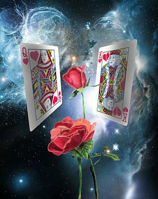 Queen Of Broken Hearts Art Print