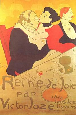 Painting - Queen Of Joy by Henri De Toulouse-Lautrec
