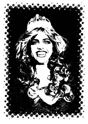 Digital Art - Queen Of Pop Art by Ellen Barron O'Reilly