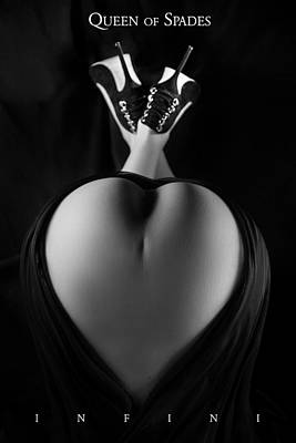 Photograph - Queen Of Spades by Dario Infini