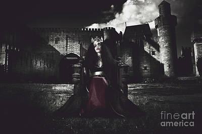 Royal Ladies Photograph - Queen Of The Dark Monarch by Jorgo Photography - Wall Art Gallery