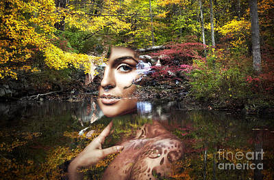 Digital Art - Queen Of The Forest by John Rizzuto
