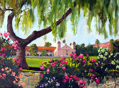 Pepper Painting - Queen Of The Missions by Dorothy Nalls